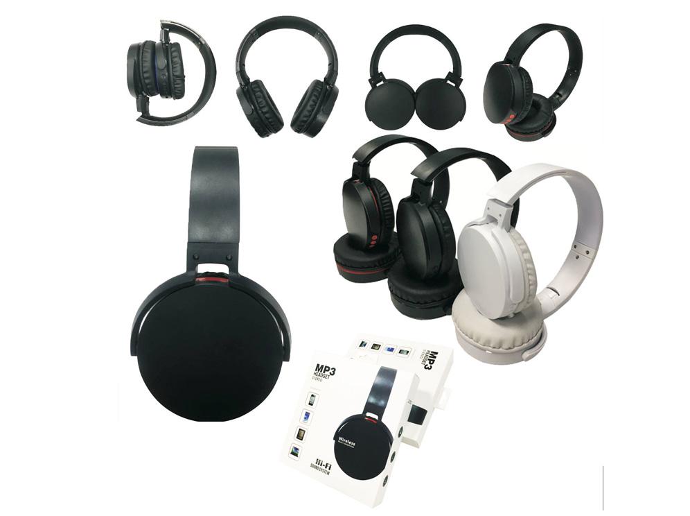 אוזניות MP-3 ורדיו