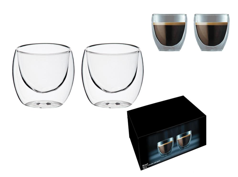 זוג כוסות אספרסו במארז