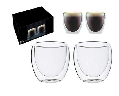 זוג כוסות דופן כפולה