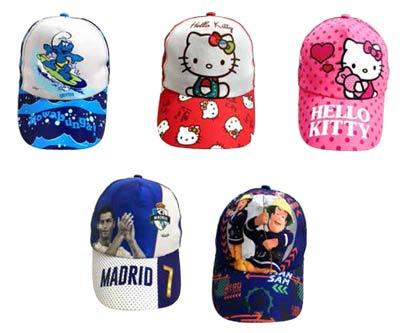 כובעי מותגים לילדים