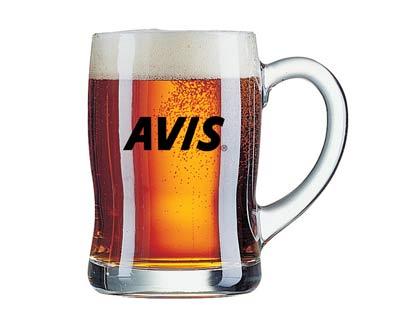 כוס בירה 450 מל על הבר