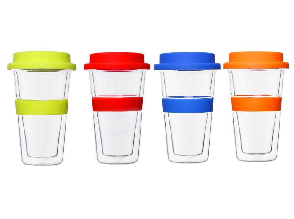 כוס טרמית זכוכית דאבל