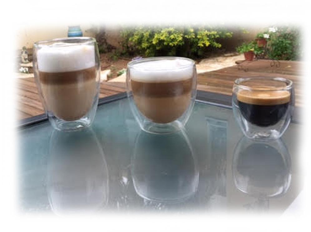 כוס שתיה דופן כפולה