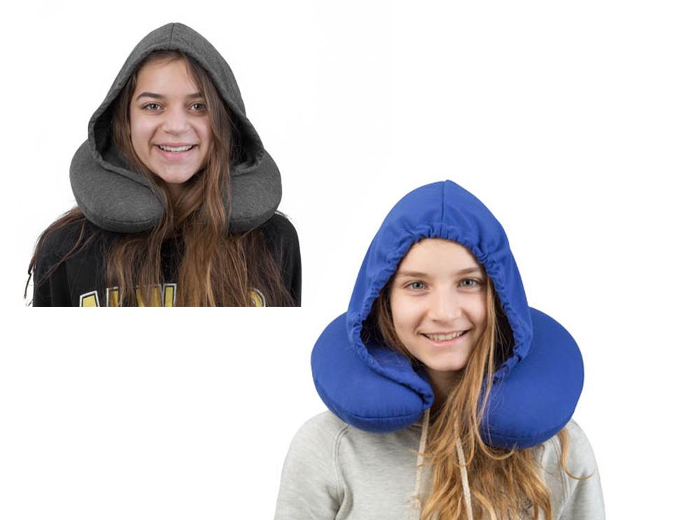 כרית נסיעות בשילוב כובע