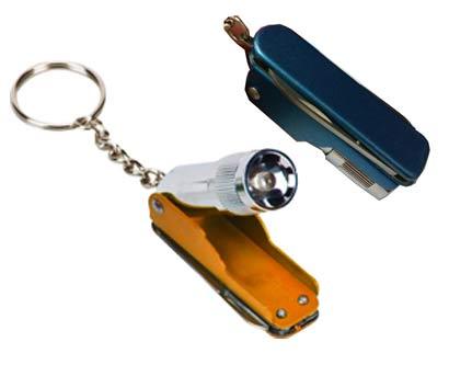 מחזיק מפתחות אולר עם פנס