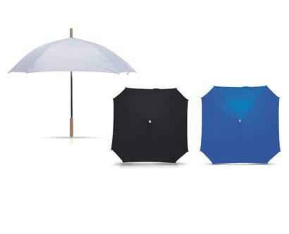 מטריה מרובעת 23אינץ/28 אינץ
