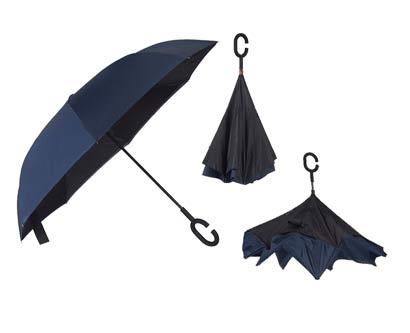 מטריה מתהפכת בד כפול