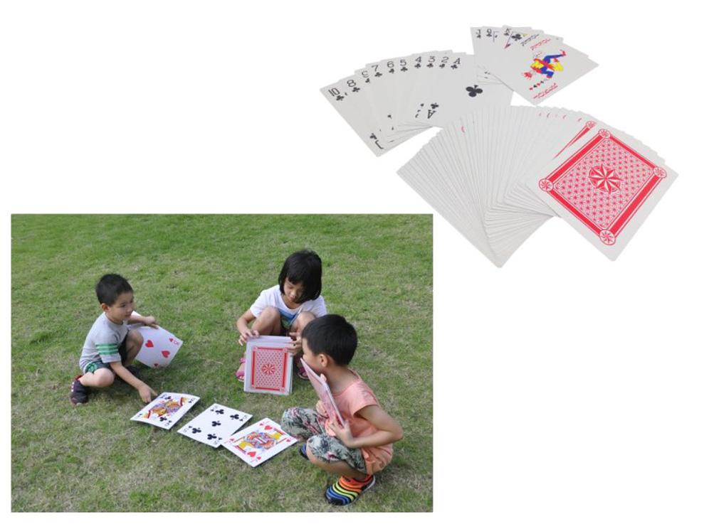 משחק קלפים ענקי לגינה