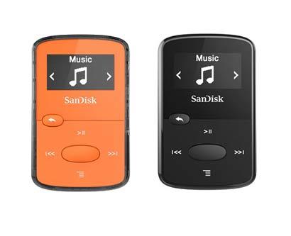 נגן sansa clip san disk MP3