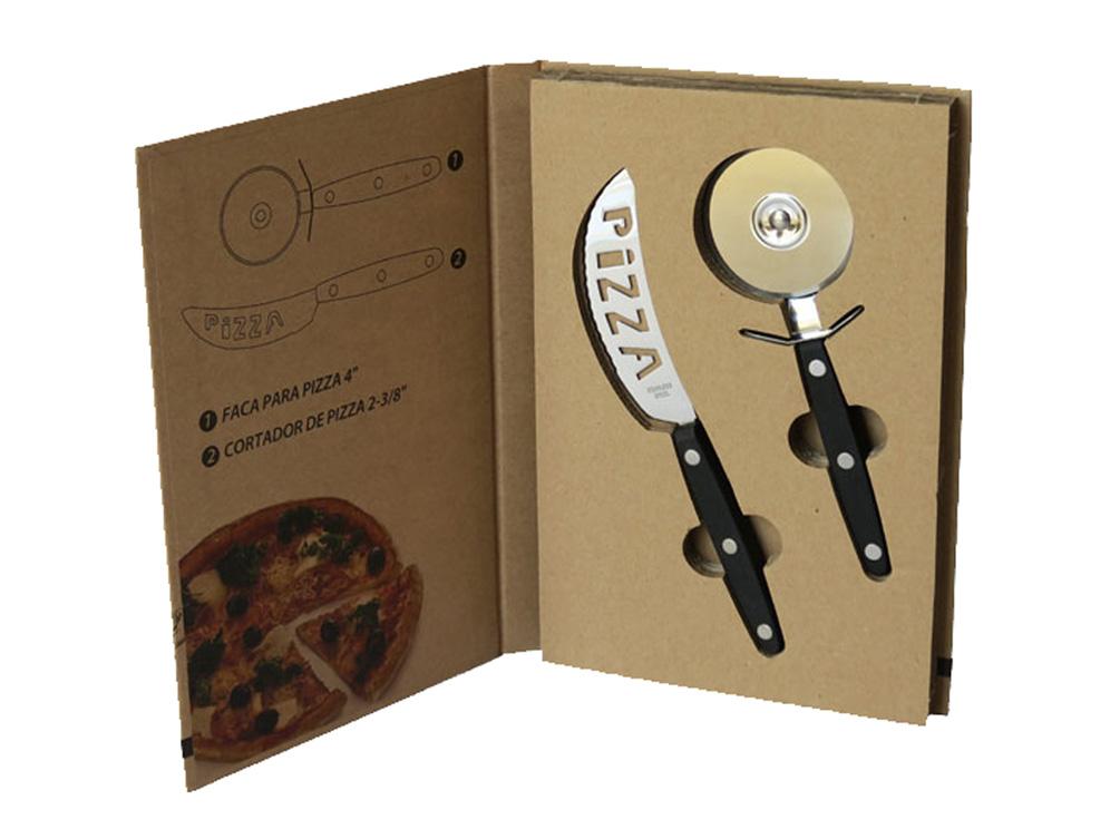 סט 2 סכיני פיצה