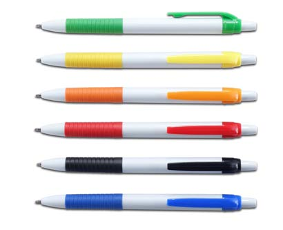 עט פלסטיק סימפל גריפ גומי
