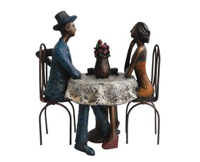 פסל מעוצב סיפורי קפה