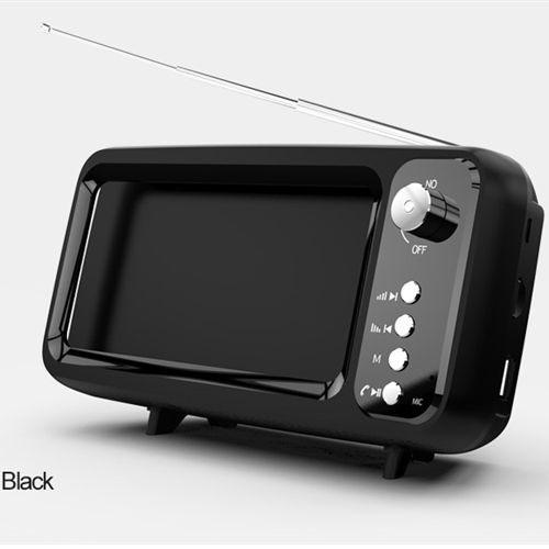 רמקול בצורת טלוויזיה רטרו
