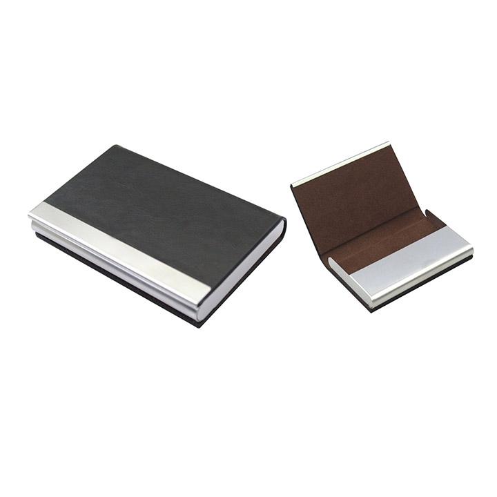 קופסא לכרטיסי ביקור דמוי עור