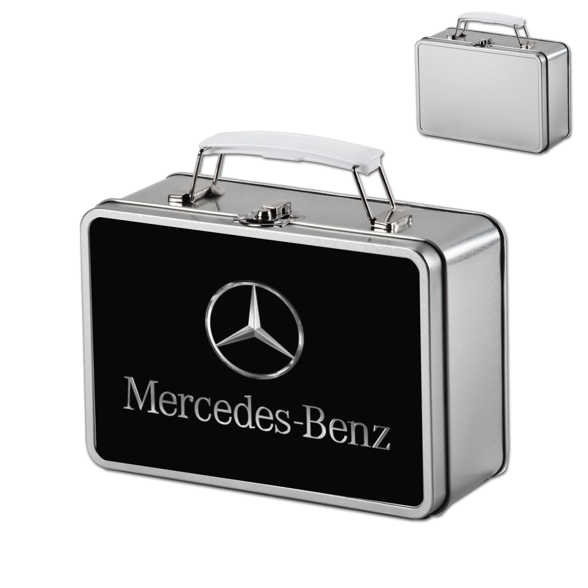 קופסת מתכת מזוודה