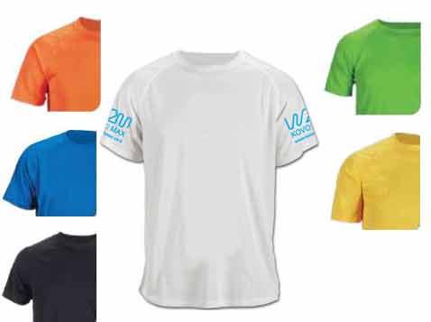 חולצת ספורט מנדפת זיעה