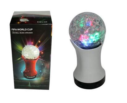 רמקול כדור אורות