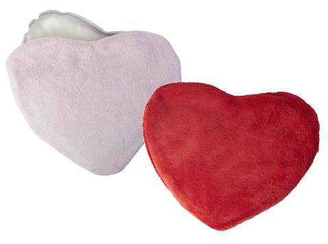 כרית חימום ג'ל בצורת לב