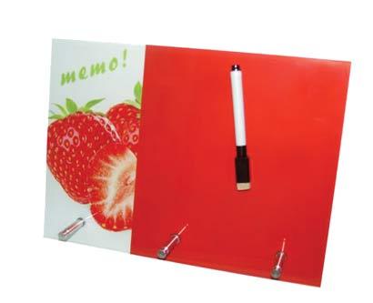 לוח ממו מחיק תות