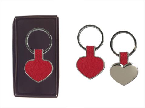 מחזיק מפתחות לב אדום