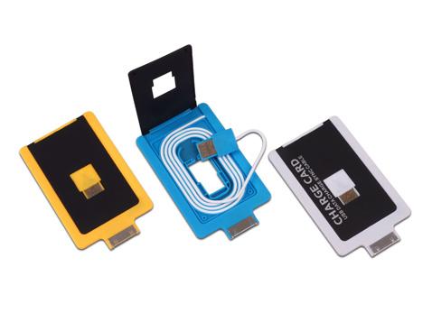 מטען לאייפון כרטיס אשראי