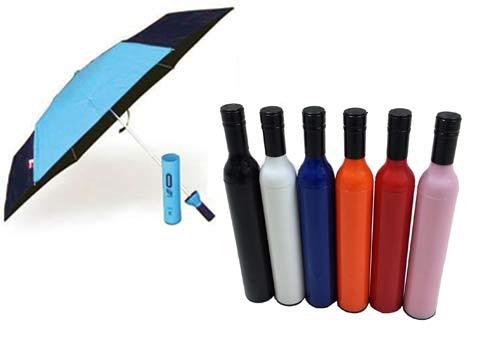 מטריה מתקפלת בבקבוק