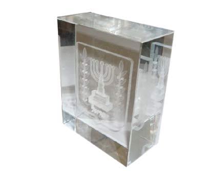 מכבד זכוכית מנורה