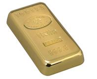 מכבד לניירות מעוצב מטיל זהב