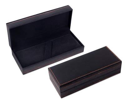 קופסת עטים מפוארת דמוי עור סטייג