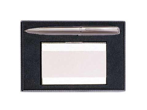 עט וקופסא לכרטיסי ביקור