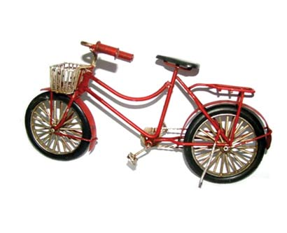 פסל אופניים רטרו