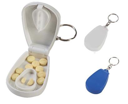 קופסא לתרופות מחזיק מפתחות