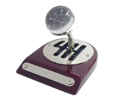 שעון שולחני ידית הילוכים