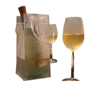 שקית קרח לקירור משקאות