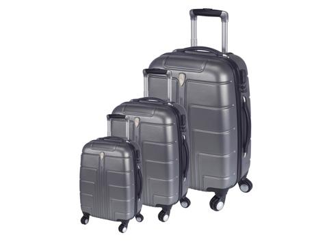 סט 3 מזוודות קשיחות הוריקן