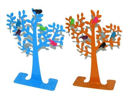 מעמד ממו שולחני בצורת עץ