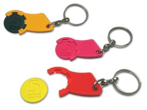 מחזיק מפתחות פותח עגלות
