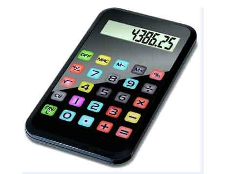 מחשבון כיס iphone