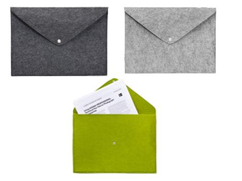 מעטפה מבד ממוחזר