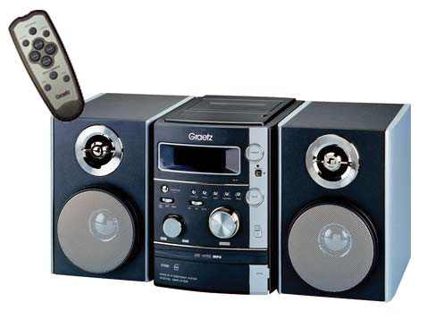 מערכת סטריאו MP3