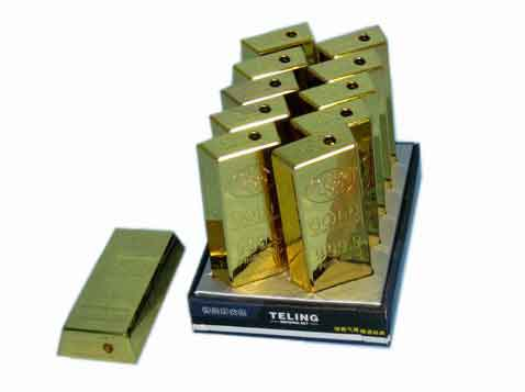 מצת אלקטרוני מטיל זהב