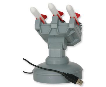 משחק  משגר טילים  USB