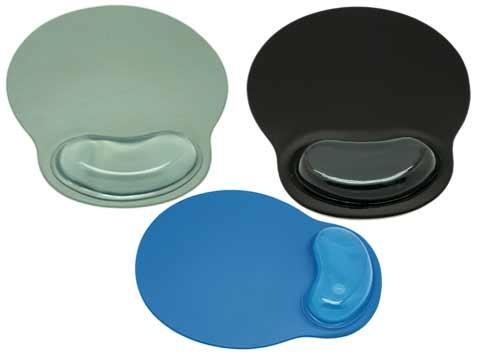 משטח לעכבר פלסטי כרית ג'ל