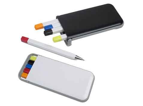 סט עטים ומדגשים
