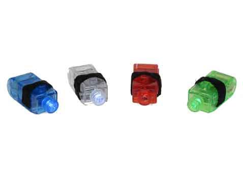 סט 4 טבעות תאורה צבעונית
