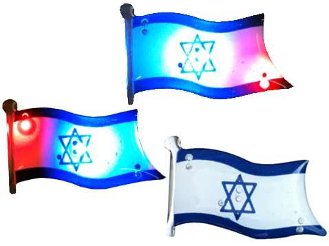 סיכה מגנטית דגל ישראל