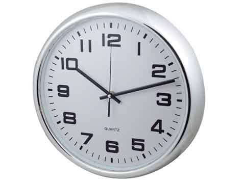 שעון קיר לפרסום