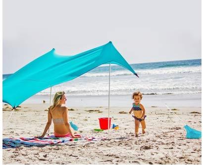 אוהל לים שקי חול
