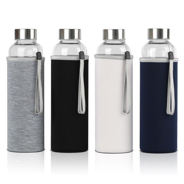 בקבוק זכוכית עם כיסוי