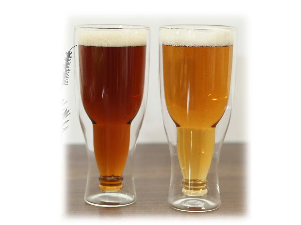 כוס בירה דופן כפולה